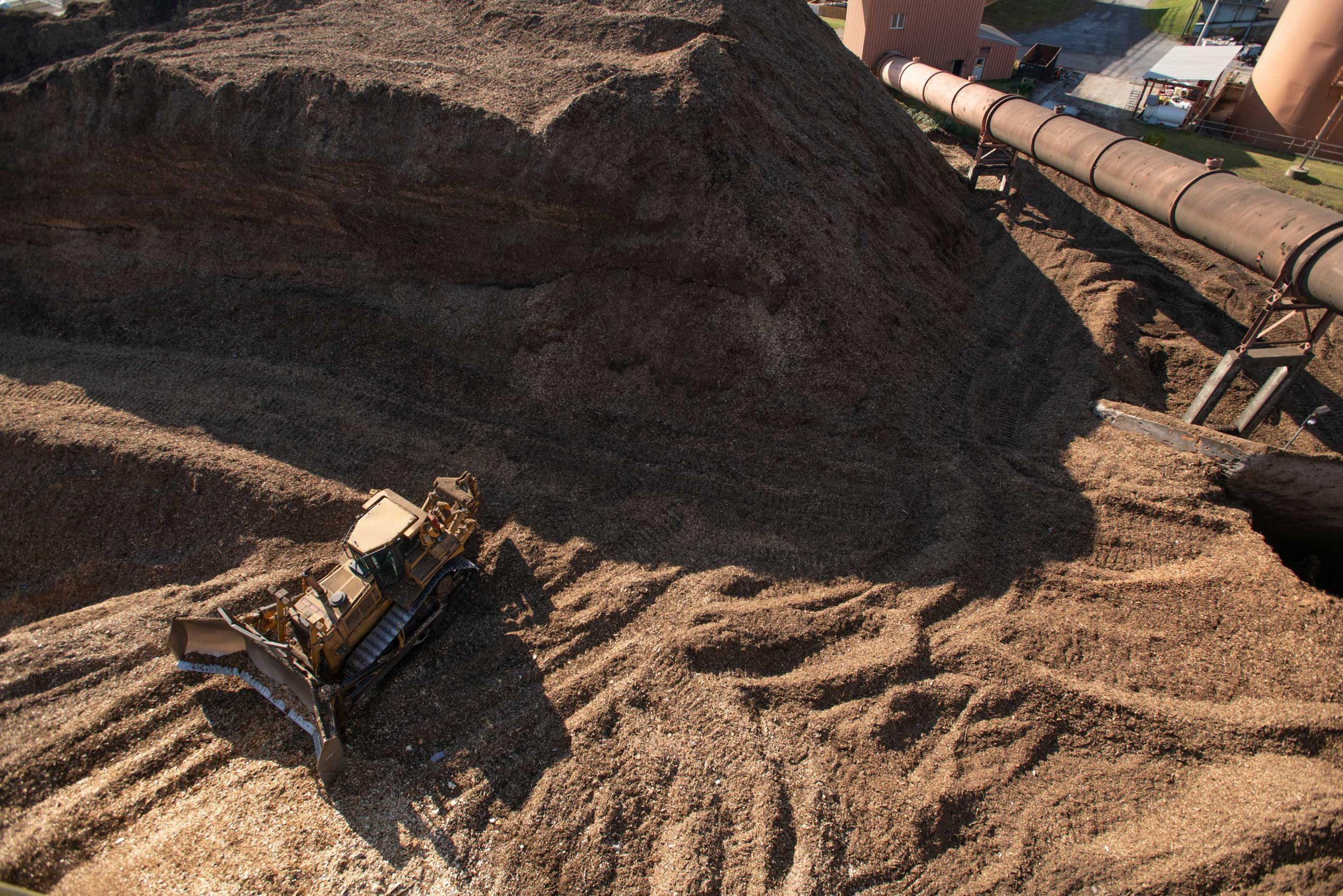 Biomass Material at ReEnergy Black River
