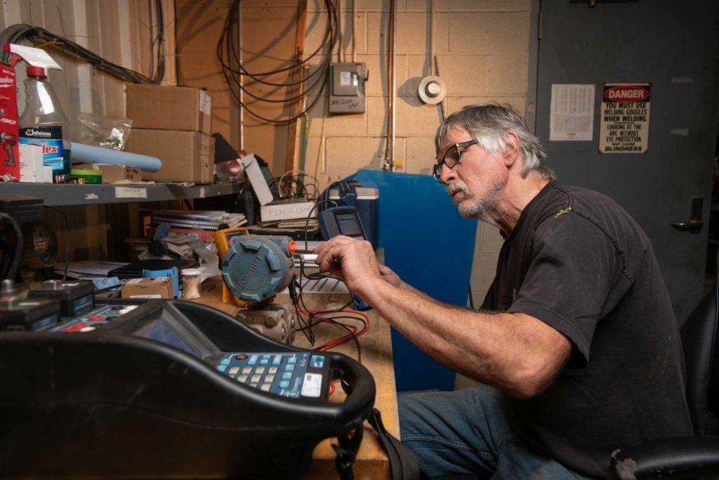Repairs by Employee at ReEnergy Black River