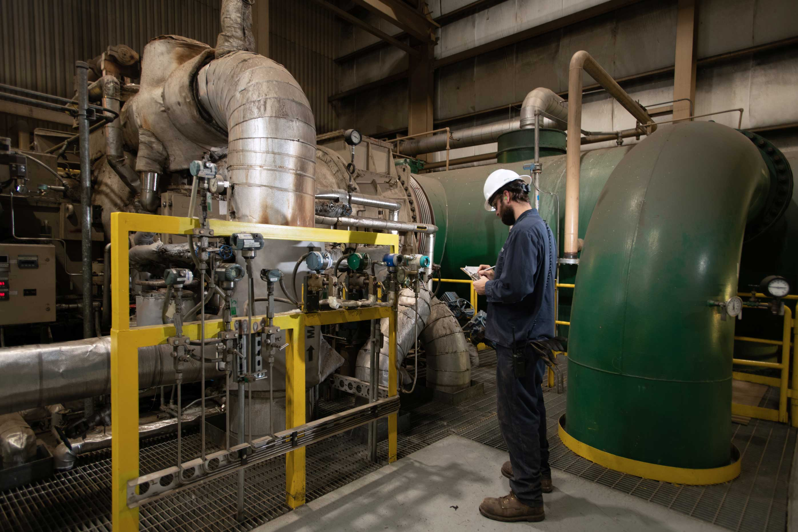 Operations at ReEnergy Livermore Falls