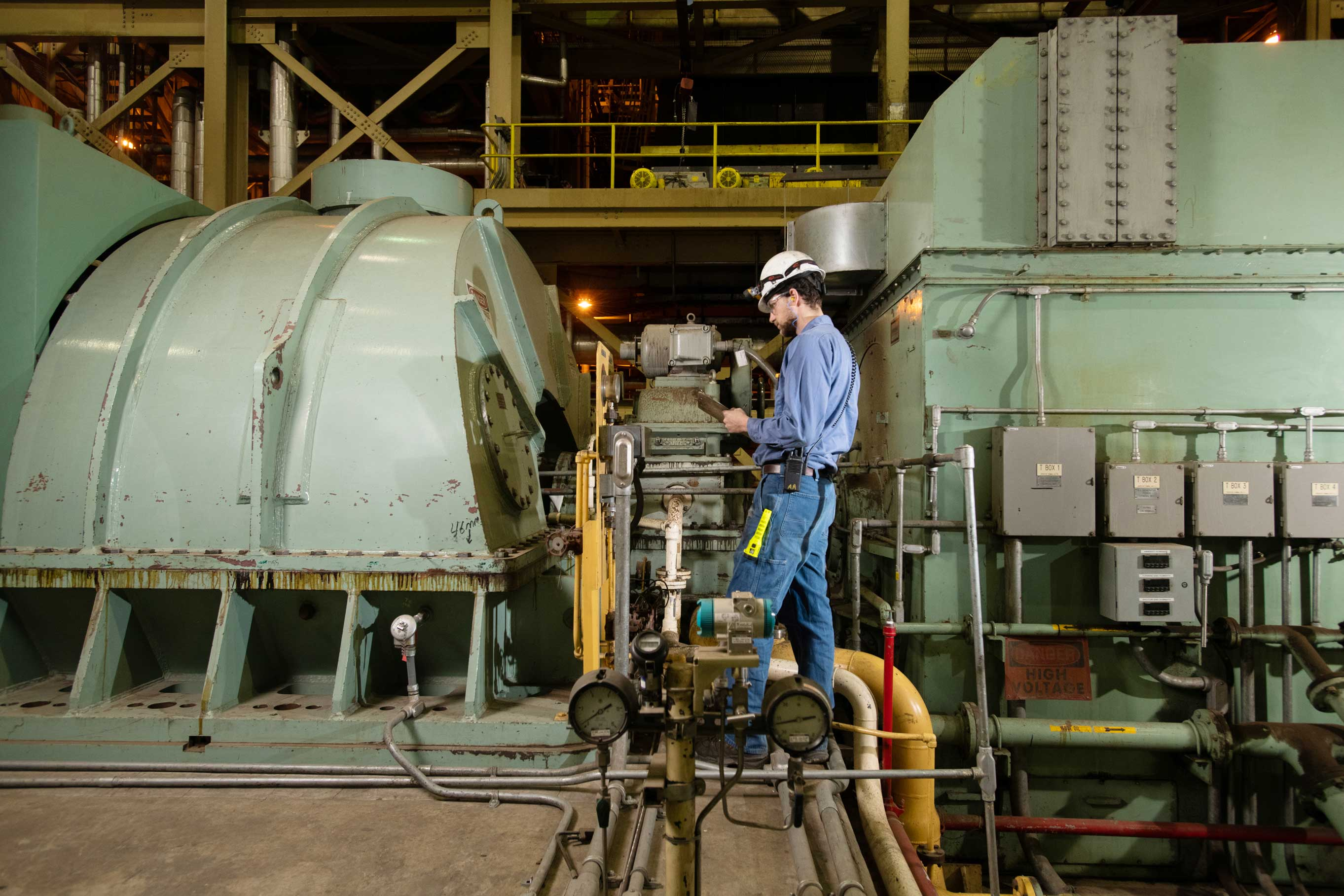 Operations at ReEnergy Stratton Facility